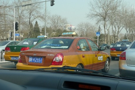 China Toy Car: Beijing Taxi - CarNewsChina.com
