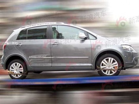 Volkswagen Crossgolf Spotted In China Carnewschina