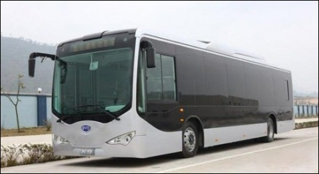 BYD full electric bus