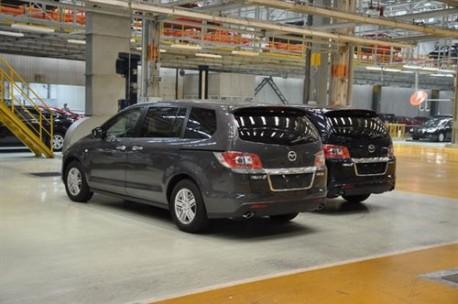FAW Mazda 8 China