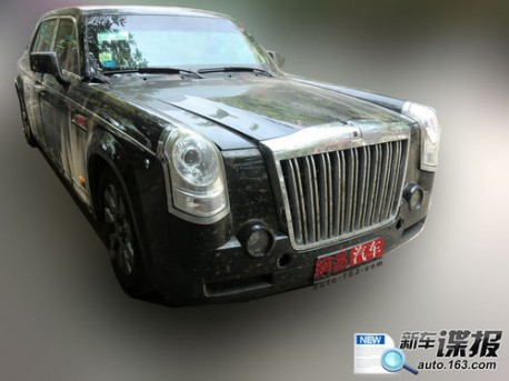New Hongqi Red Flag HQE