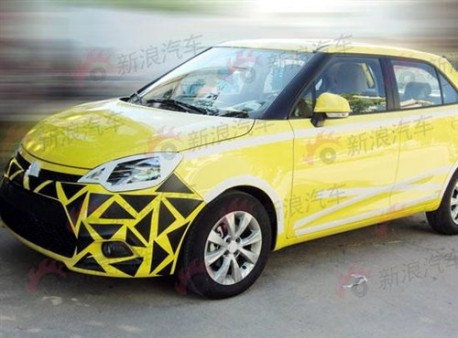New MG3 China