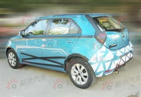 New MG3 China