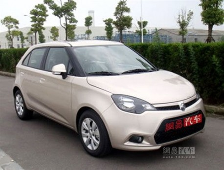 New MG3 in China