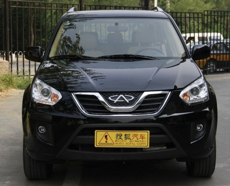 New Chery Tiggo China