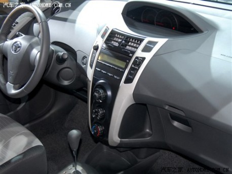 Guangzhou-Toyota Yaris China interior