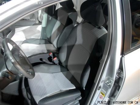 Guangzhou-Toyota Yaris China interior