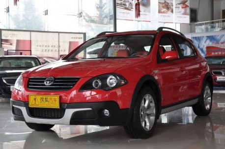 Brilliance Junjie Cross listed in China