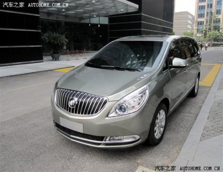 new Buick GL8 China