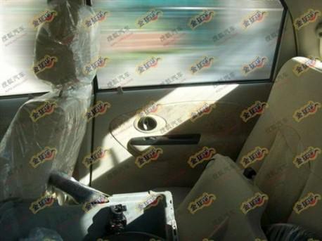 New Chery QQ3 interior