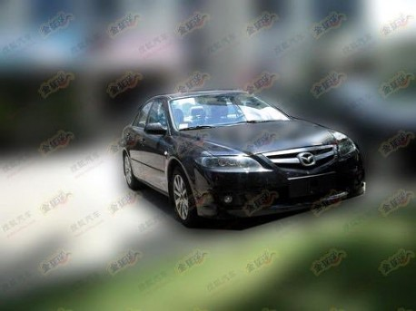 FAW Mazda 6 facelift China