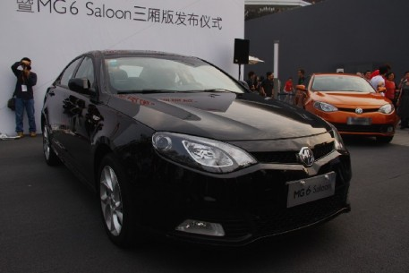 MG6 Saloon Launched in Shanghai