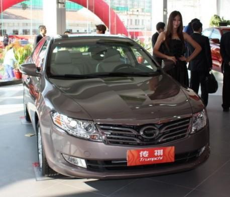 Guangzhou Auto Trumpchi Debuted in China