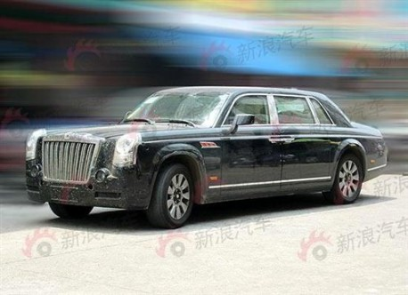 New Hongqi Red Flag Limosine for China