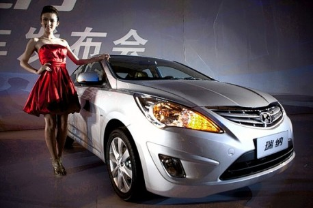 Hyundai Verna China