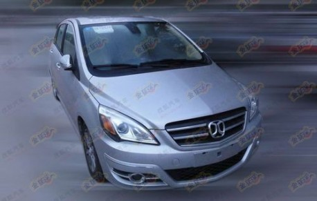 Beijing Auto C30 new Spy Shots