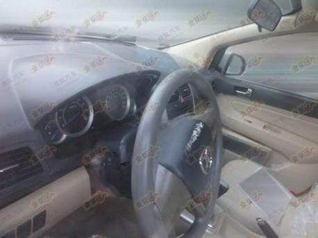 Beijing Auto C30 new Spy Shots