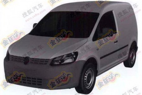 Volkswagen Caddy China