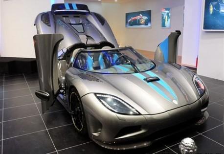 Koenigsegg Agera debuts in China