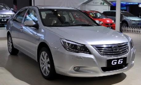 BYD G6 sedan