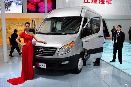 JAC Sunray full-size van