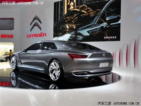 Citroen Metropolis DS9 in China