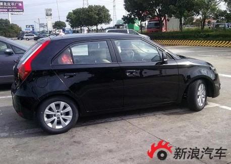 New MG3 from China