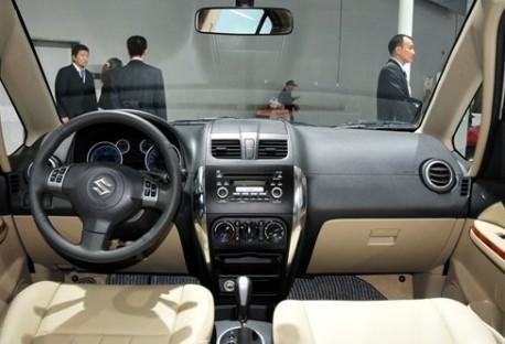 Facelifted Suzuki SX4 sedan from China
