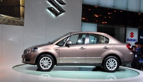Facelifted Suzuki SX4 sedan from China