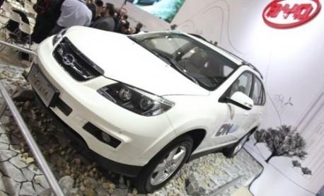 BYD S6DM hybrid SUV