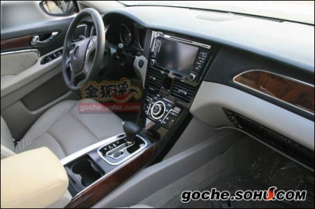 That indeed is well possible, FAW's upcoming Besturn B90 is based on the Mazda 6 and this is almost the same dash as the