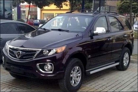 Brilliance-Jinbei SUV