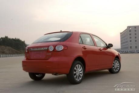 BYD G3R hatchbackBYD G3R hatchback