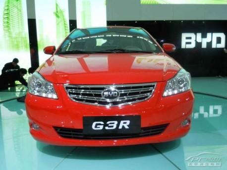 BYD G3R hatchback