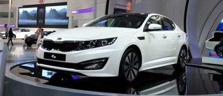 Kia K5 for China