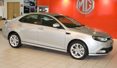 MG6 back in England
