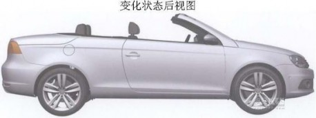 Volkswagen Eos in China