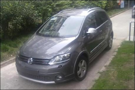Spy Shot Volkswagen Crossgolf Testing In China Carnewschina