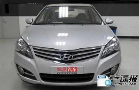 Hyundai Elantra facelift China