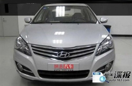 Hyundai Elantra facelift China