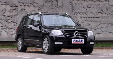 Mercedes Benz Starts Making The GLK Suv In China From October This Year.  The Car Will Then Be Listed In Early 2012. The GLK Will Be Made In China By  The ...