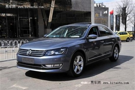 China's Volkswagen New Passat