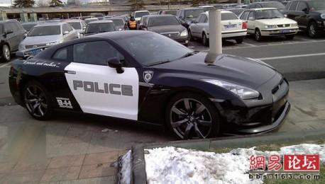Nissan GTR Police Edition