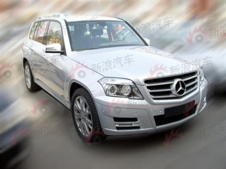 Mercedes Benz GLK made in China