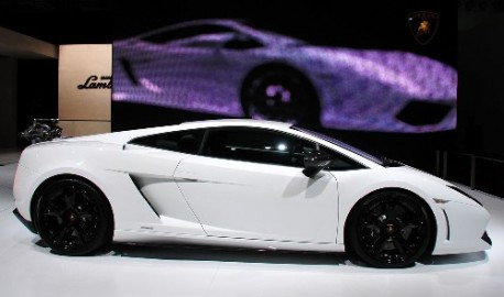 Shanghai Auto Show Lamborghini Gallardo Lp 550 2 Tricolore