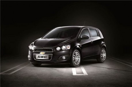 First Official Pics New Chevrolet Aveo For China Carnewschina