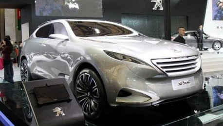 Peugeot 6008 Suv For China To Rival Audi Q7