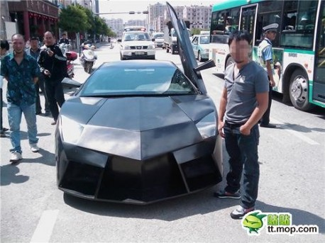 In May I Posted A Story About A Man In Kunming Who Made Himself A 14.000  Dollar Copy Of A Lamborghini Aventador. The Car Was Finally Finished  Earlier This ...