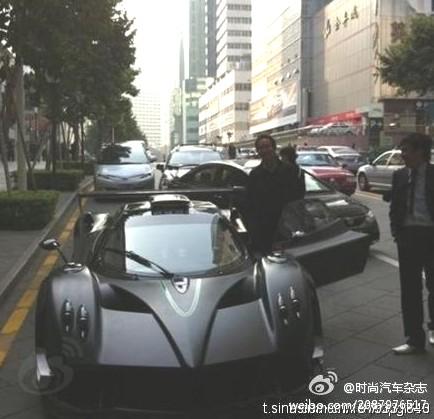 spotted in china: pagani zonda r - carnewschina