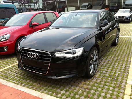New Audi A6 Hybrid seen testing in China - CarNewsChina.com